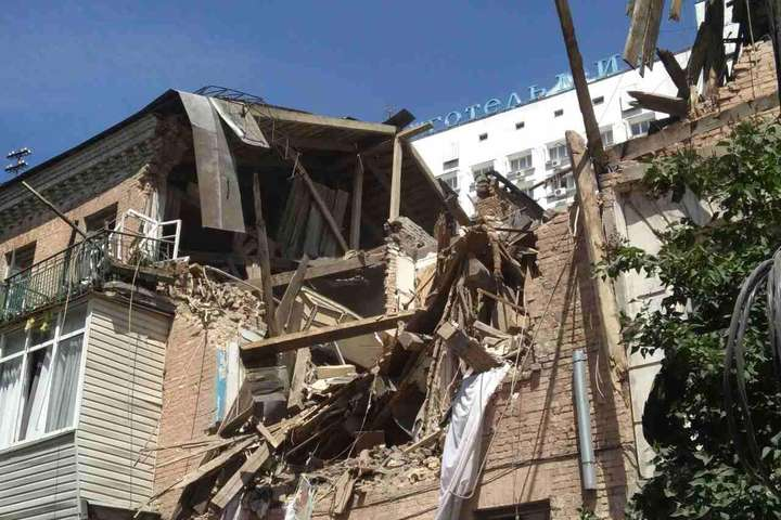 КМДА забезпечить тимчасовим житлом постраждалих від вибуху вГолосіївському районі
