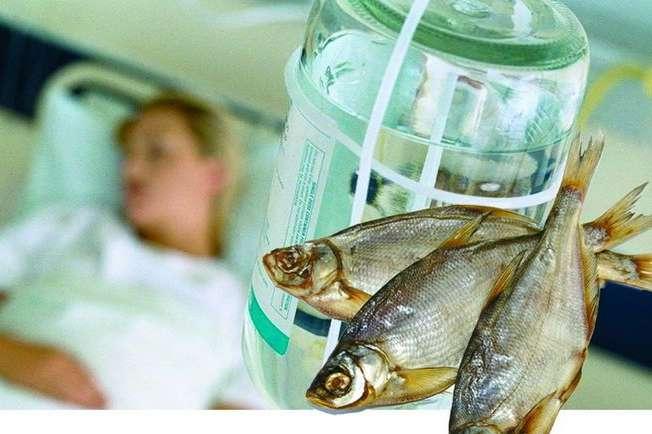 НаКропивниччині від ботулізму померла жінка, яка купила уХаркові в'ялену рибу