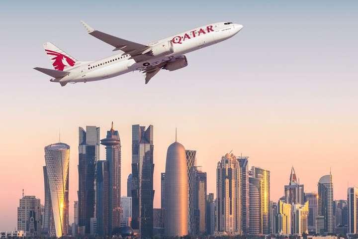 Qatar Airways літатиме вУкраїну зсерпня
