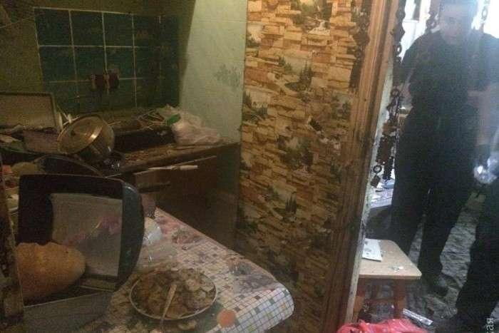 Квартира, де стався вибух гранати