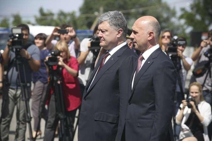 Україна допоможе Молдові відновити суверенітет над Придністров'ям— Порошенко