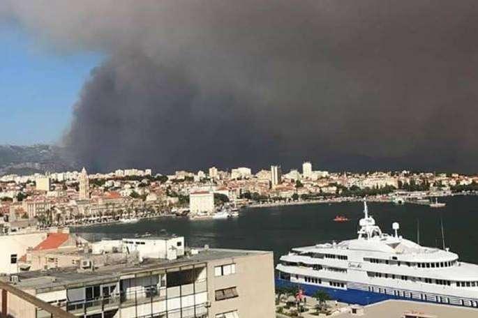 Чорногорія попросила міжнародної допомоги вгасінні лісових пожеж
