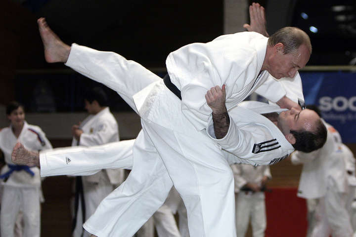 Washington Post: Путін - фейковий майстер дзюдо?
