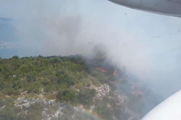 Україна направила доЧорногорії літак Ан-32П для допомоги угасінні пожеж