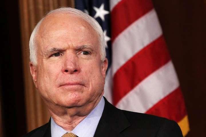 Усенатора Маккейна діагностували пухлину головного мозку
