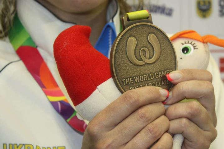 На Всесвітніх іграх у Вроцлаві Україна здобула дві «бронзи»