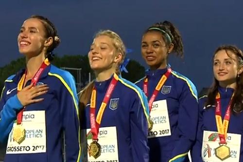 Українські легкоатлетки перемогли на чемпіонаті Європи U20