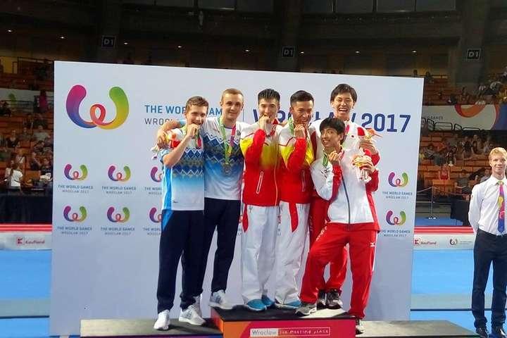 Збірна України зпауерліфтингу наВсесвітніх Іграх здобула золото і бронзу