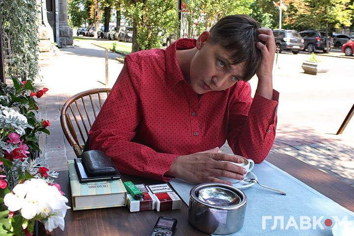Нардеп Надія Савченко