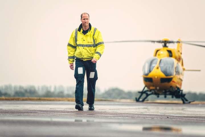 Принц Вільям залишає роботу пілота вертольота швидкої допомоги