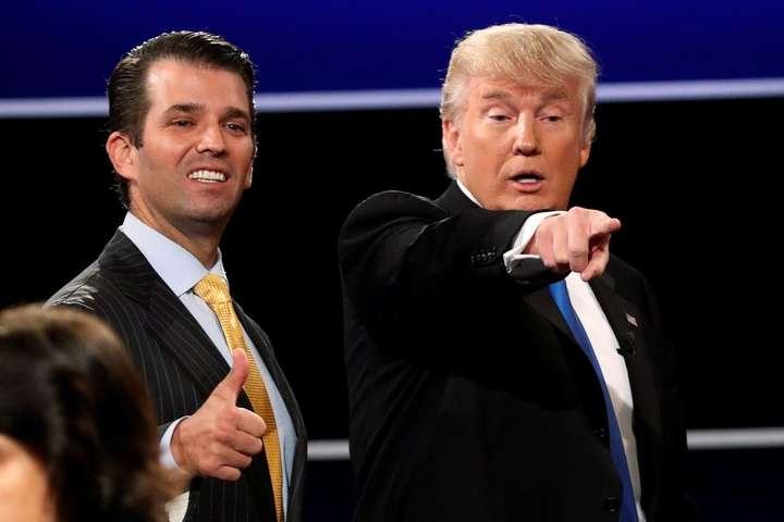 Син Трампа збрехав про зустріч з«кремлівською юристкою» під диктовку батька— ЗМІ