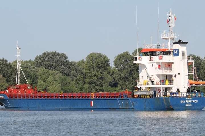 Україна затримала судно через захід доКриму