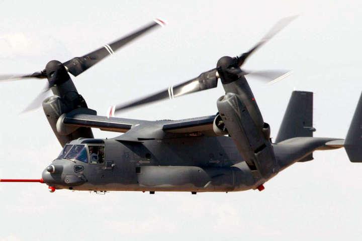Біля Австралії впав конвертоплан США з26 військовими