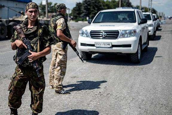 Бойовики «ДНР» затримали спостерігачів ОБСЄ