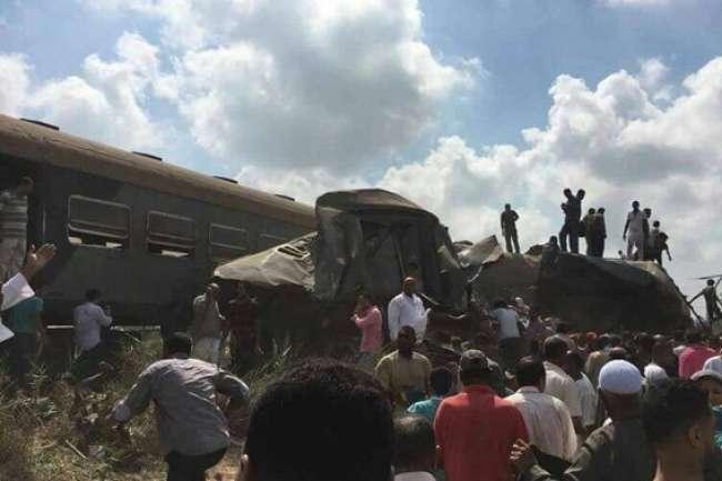 Аварія потягів в Єгипті: 36 людей загинули, понад 100 постраждали
