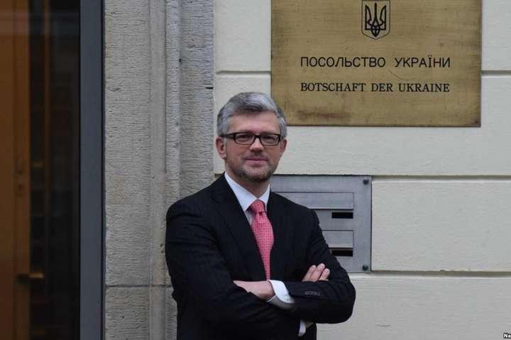 Посол закликав лідера німецьких лібералів відмовитись від заяв щодо Криму