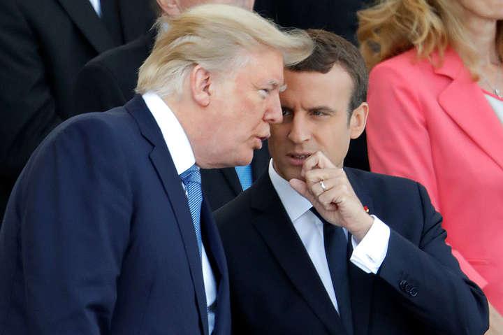 Трамп і Макрон домовилися координувати дії у відносинах зКНДР