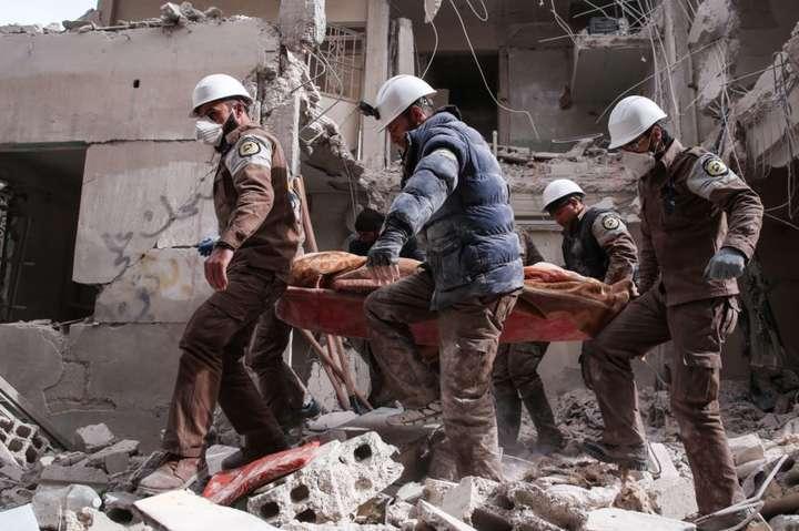 <p>Організація «Білі шоломи» була номінована на Нобелівську премію миру</p>