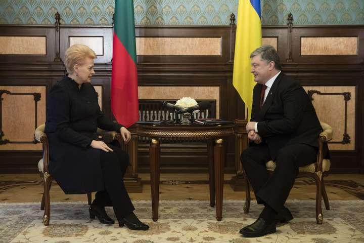 ВАдміністрації Президента спростували інформацію про зрив зустрічі Порошенка із Грібаускайте