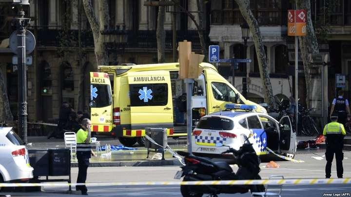 МЗС: Українці непостраждали під час теракту уБарселоні