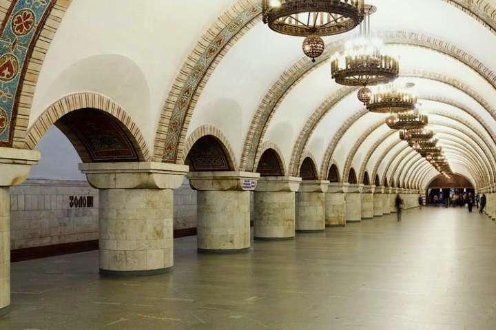НаДень Незалежності деякі станції київського метро припинять роботу