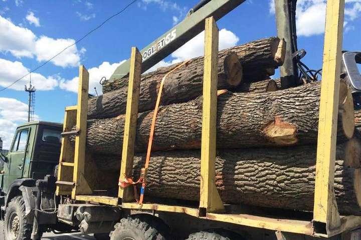 НаЗакарпатті вантажівка з лісом злетіла упрірву, є загиблі