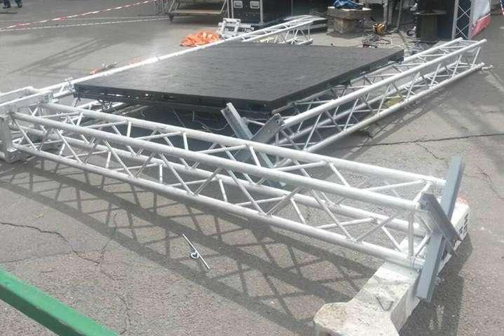 ВУмані під час концерту на дітей упало сценічне обладнання, є постраждалі