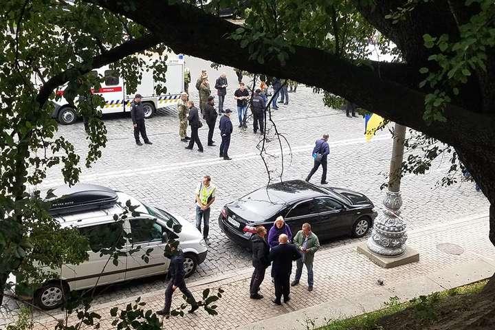 Поліція уточнила кількість постраждалих від вибуху в центрі столиці