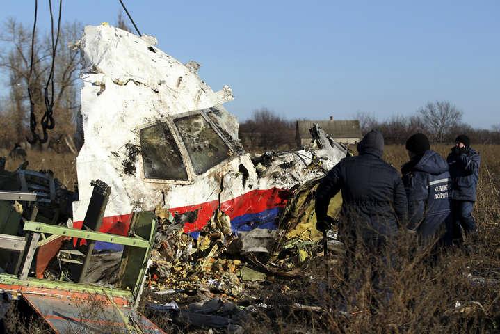 Росія передала міжнародній слідчій групі нові дані щодо катастрофи рейсу MH17