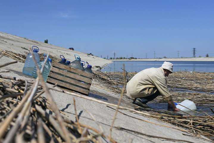 Через окупації на півострові виникли проблеми з водою