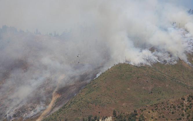 Український літак допоможе гасити пожежу уГрузії