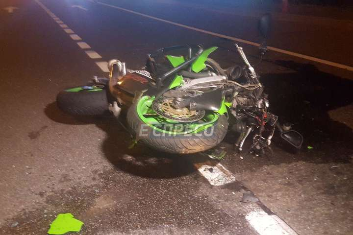 Смертельна ДТП уКиєві: таксист збив байкера