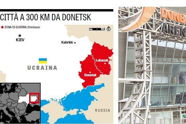 На карті Крим вказано не у складі України