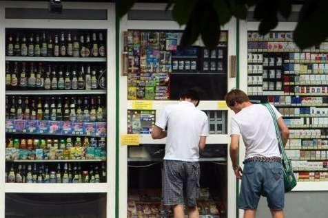 Київрада заборонила продаж алкоголю вМАФах