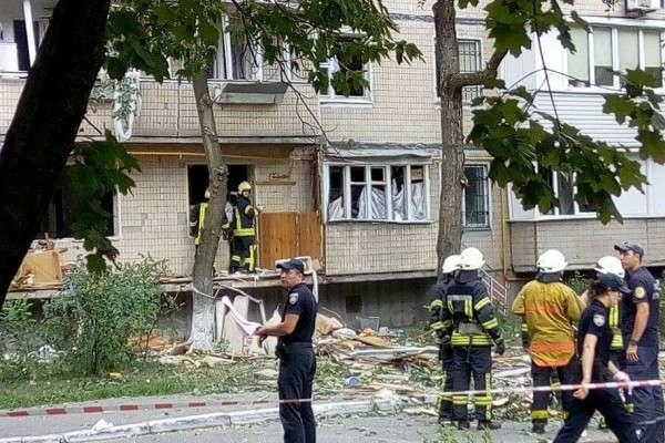 Потерпілих унаслідок обвалення будинку вГолосіївському районі Києва забезпечать житлом
