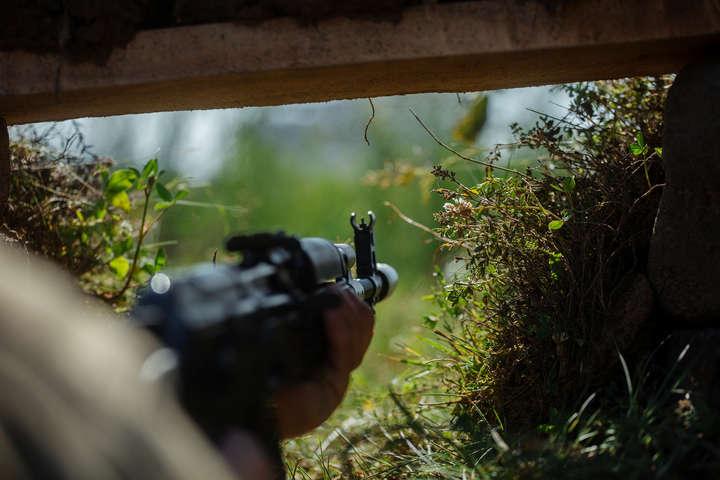 Десятки обстрілів, один поранений— Доба вАТО