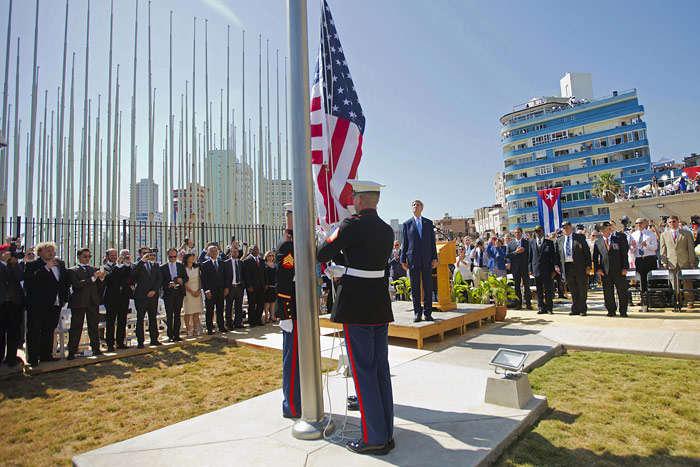 США збирається закрити своє посольство наКубі [ Редактировать ]