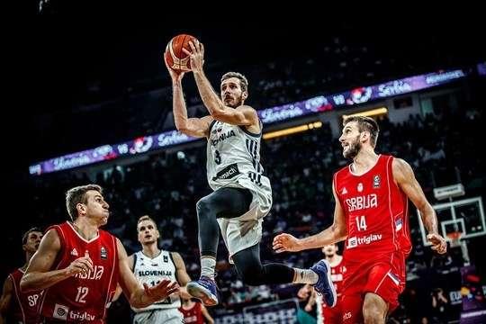 Баскетбол: Збірна Словенії виграла Євробаскет
