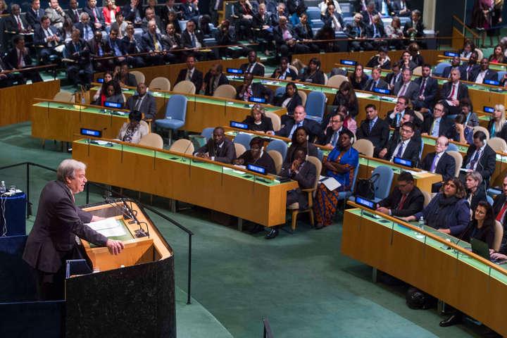128 країн підтримали декларацію про реформу ООН