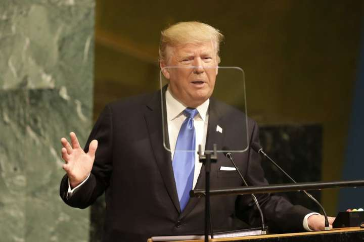 Трамп: Світ має відкинути порушення суверенітету від України до Південнокитайського моря