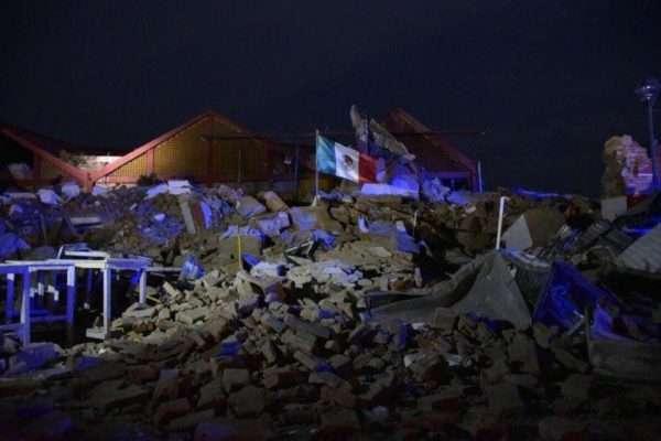 Новий землетрус магнітудою 7,1 призвів доруйнувань устолиці Мексики