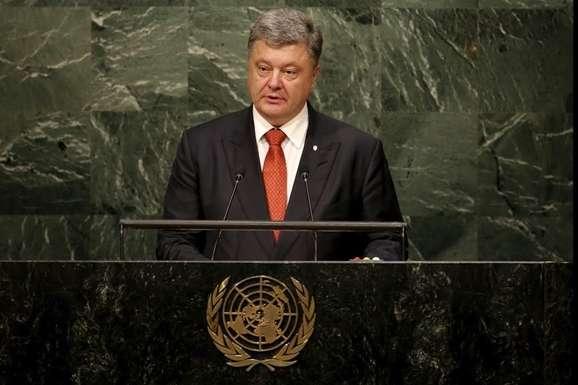 Порошенко і Гутерріш обговорили перспективи миротворчої місії наДонбасі
