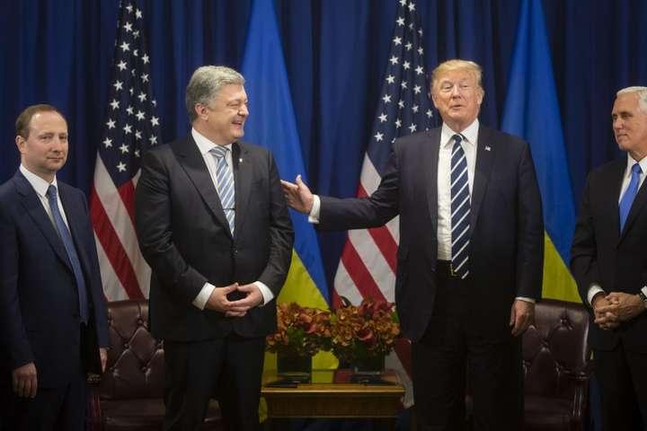 Посол України побачив «встановлення справжньої довіри» між Порошенком і Трампом