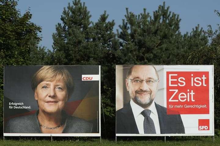 Меркель або Шульц: у Німеччині йдуть вибори вБундестаг