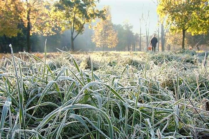 Синоптики попередили про перші заморозки вУкраїні