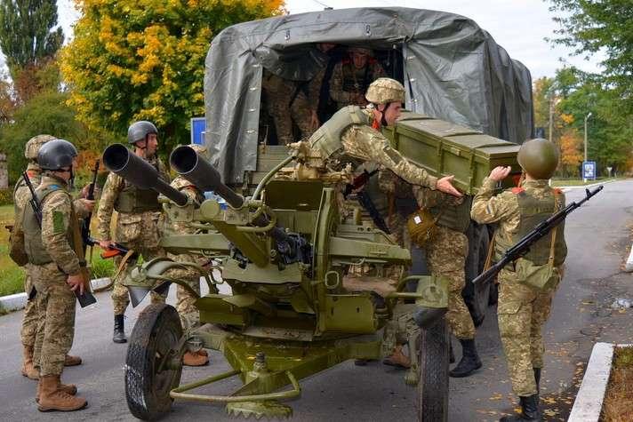 Мотузяник: Заминулу добу взоні АТО втрат серед українських військових немає
