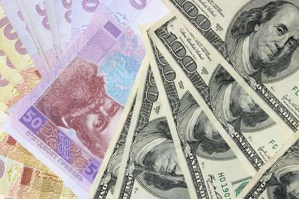Курс гривні до євро зміцнився до31,10 грн/€