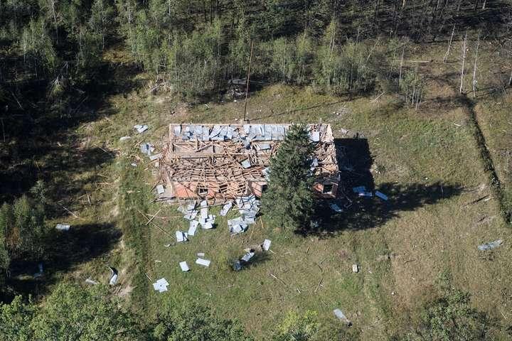 Натериторії арсеналу вКалинівці продовжуються роботи з ліквідації наслідків трагедії