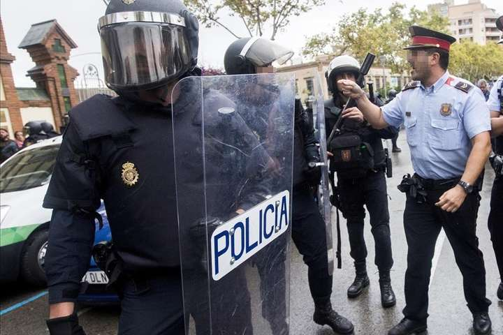 Кількість постраждалих під час референдуму уКаталонії збільшилась до337