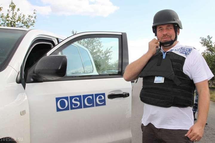 Місія ОБСЄ зафіксувала зменшення кількості вибухів наДонеччині